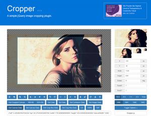 Cropper.jsのサイトです