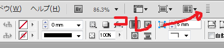 indesign pdf 欠ける 画像